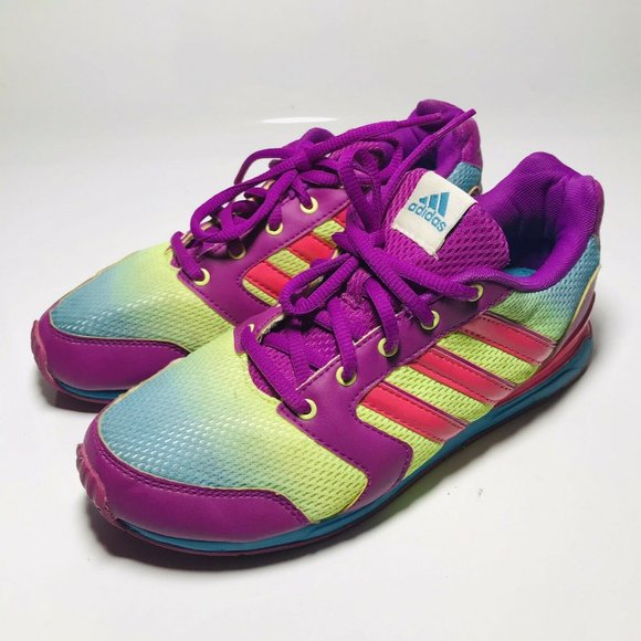 Adidas Adifast Running Shoes Girls Size 4.5 Youth